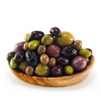 Oliven und Konserve